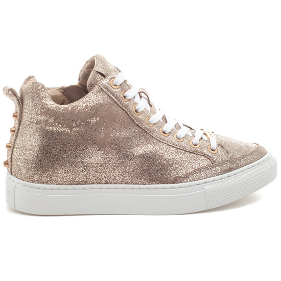 LUDLOW Gold Brushed Suede