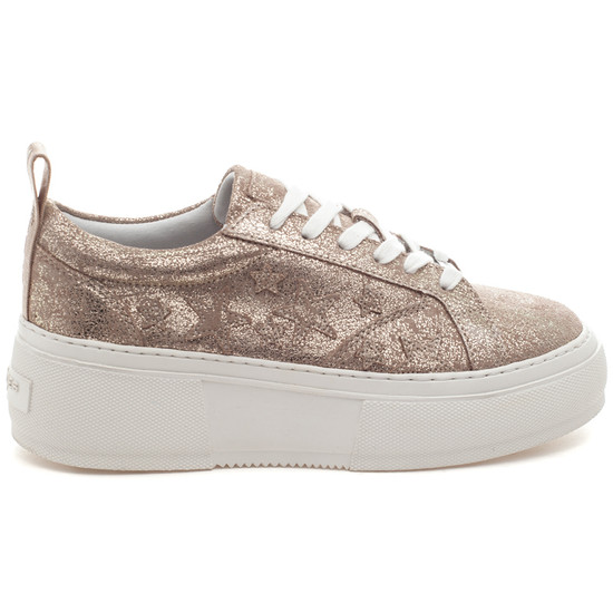 COSTARR Gold Brushed Suede