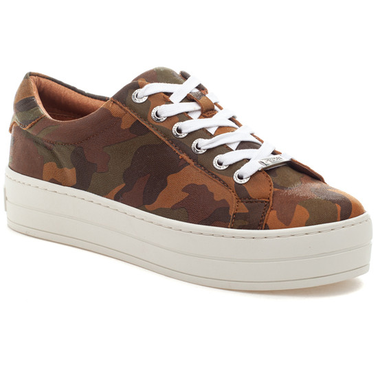 HIPPIE Tan Camo Leather