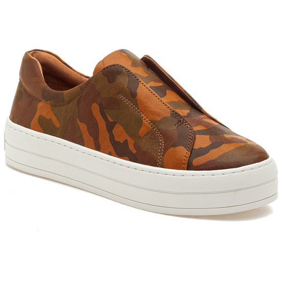 HEIDI Tan Camo Leather