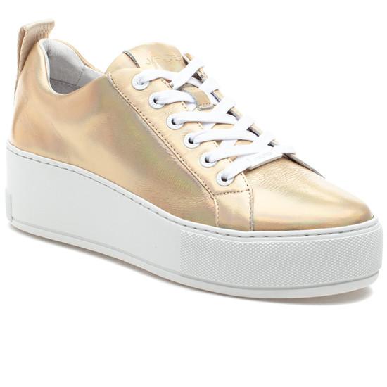 MARGOT Gold Metallic Leather