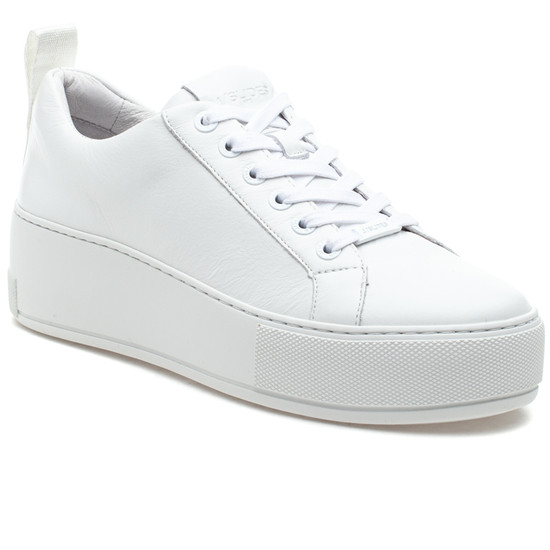 MARGOT White Leather