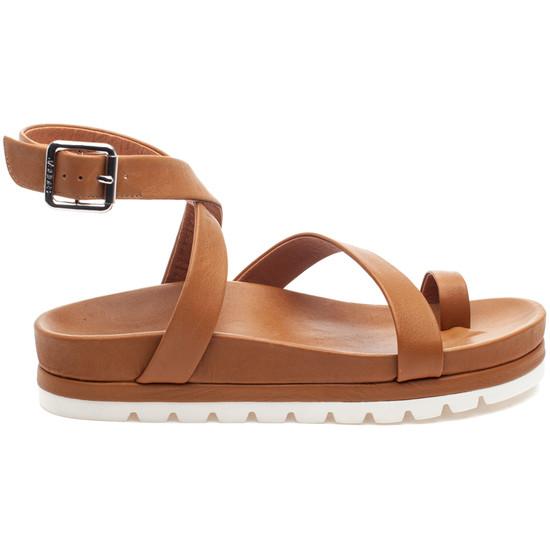 LANZY Tan Leather