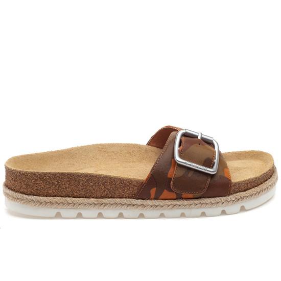 LUST Tan Camo Leather