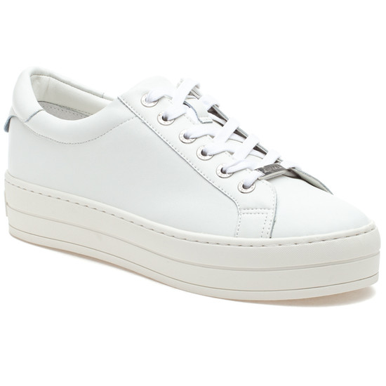 HILTON White Leather