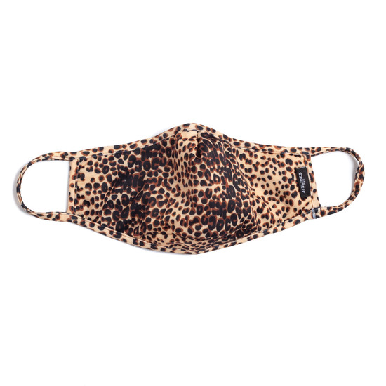 CARING MASK Light Tan Leopard