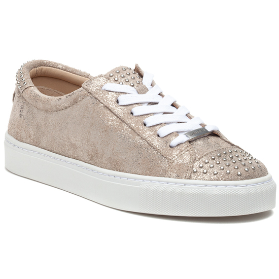 LULU Gold Brushed Suede