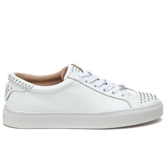 LULU White Leather