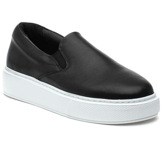DELIA Black Leather