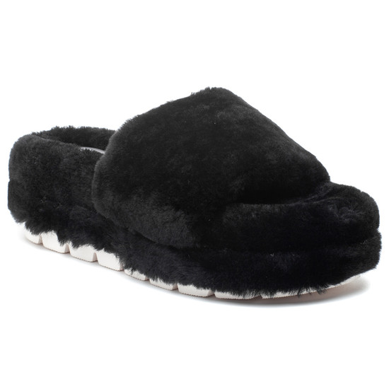 BRYCE Black Shearling