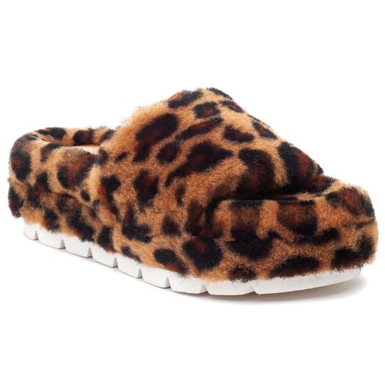 BRYCE Leopard Shearling