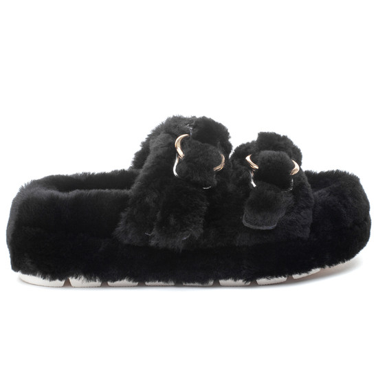 BROOKE Black Shearling