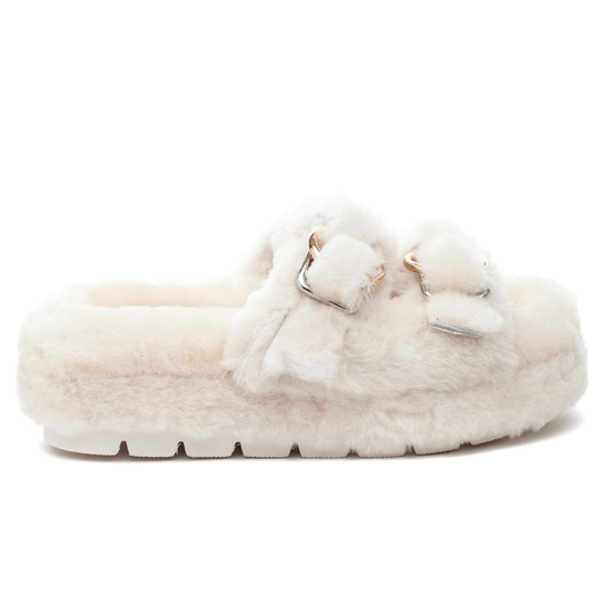 BROOKE Natural Shearling