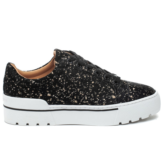 EVE Black/Beige Speck Pony Leather
