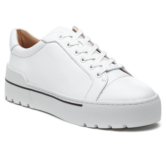 EVE White Leather