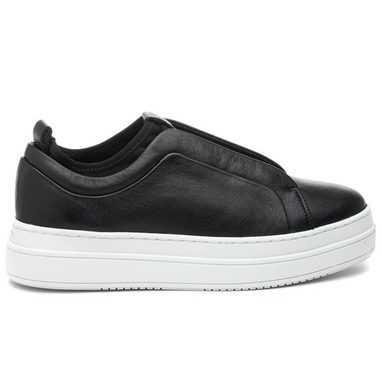 NYLE Black Leather