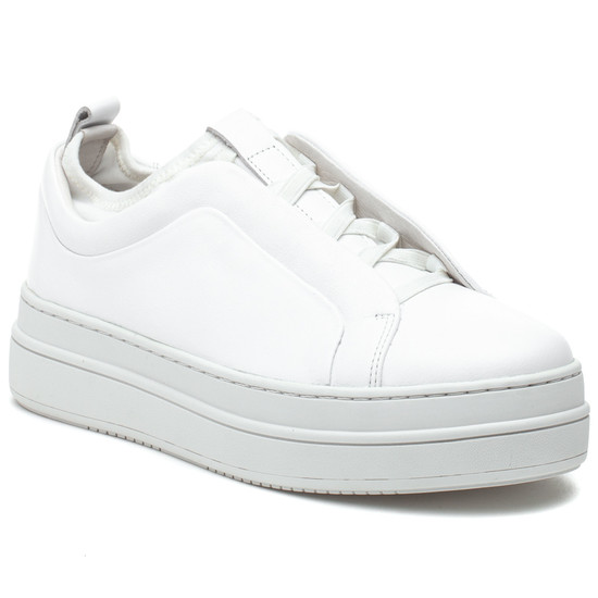 NYLE White Leather