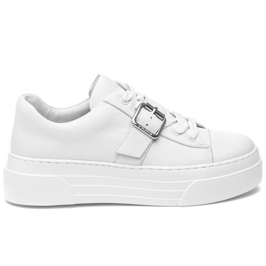 ABA White Leather