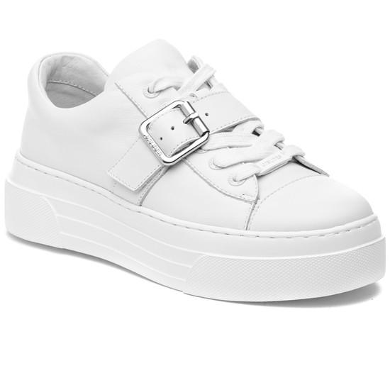 ABA White Leather