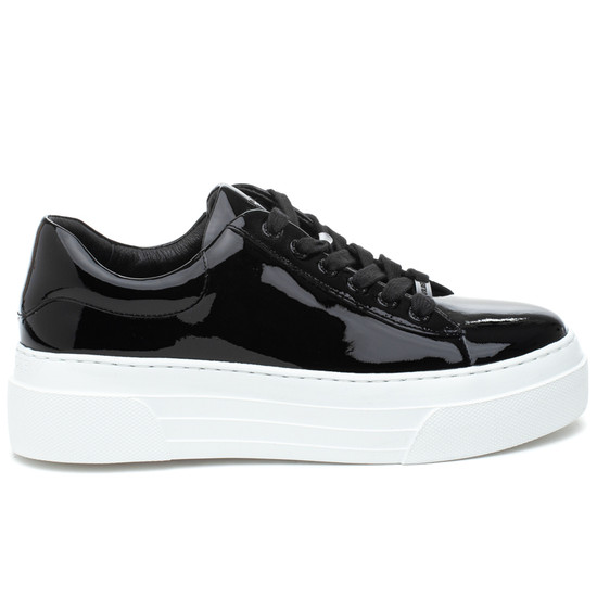 AMANDA Black Patent Leather