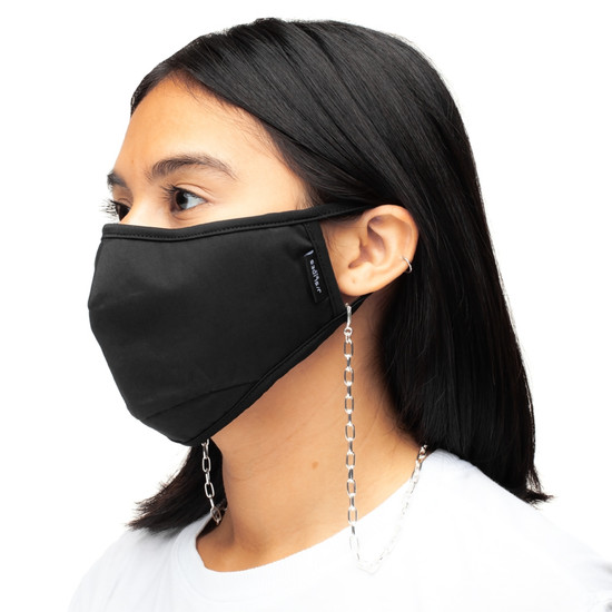 CARING MASK CHAIN Large Link Silver