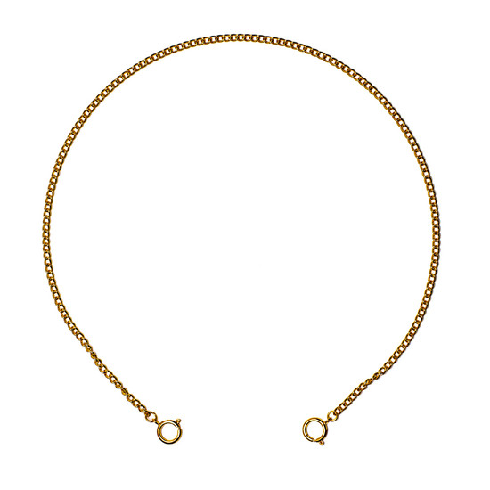 CARING MASK CHAIN Small Link Gold