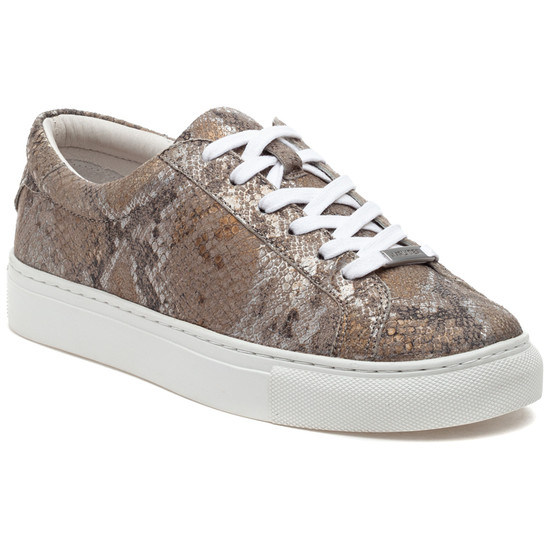 LACEE Natural Metallic Multi Embossed Leather