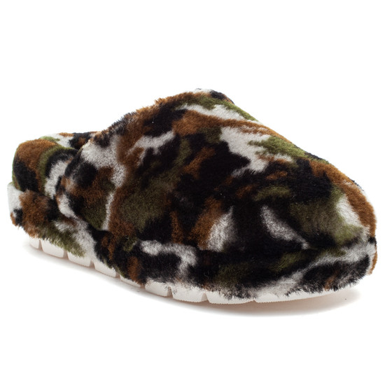 SLEEK Camo Shearling