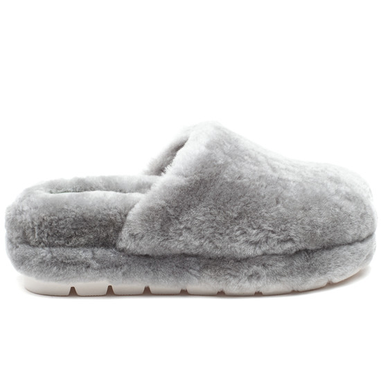 SLEEK Grey Shearling