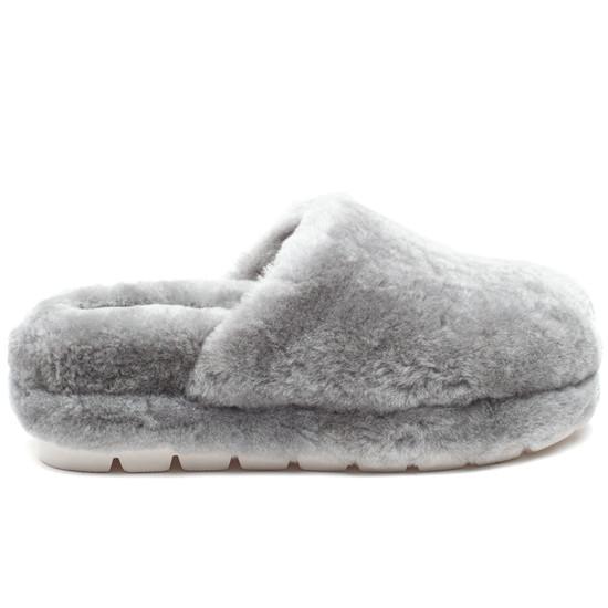 SLEEK Grey Shearling