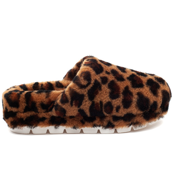 SLEEK Leopard Shearling