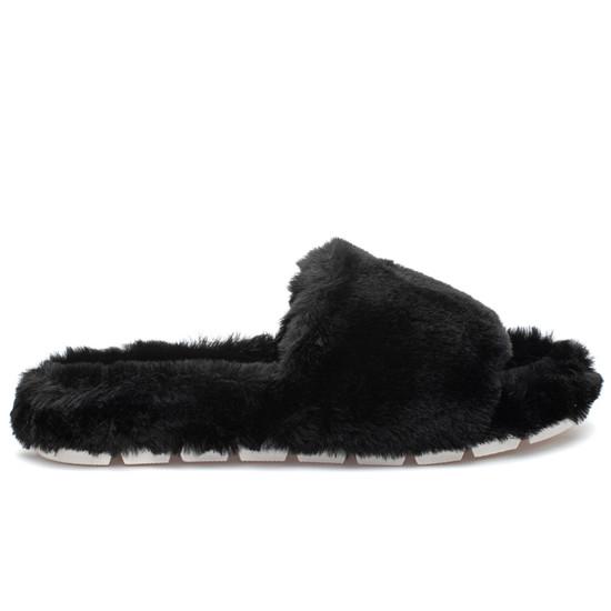 LOVLIE Black Faux Fur