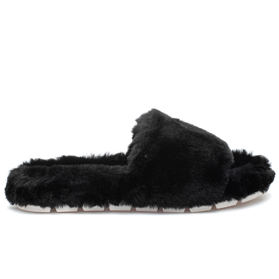 LOVLIE Black Faux Fur