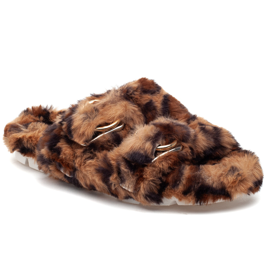 BABEE Leopard Faux Fur