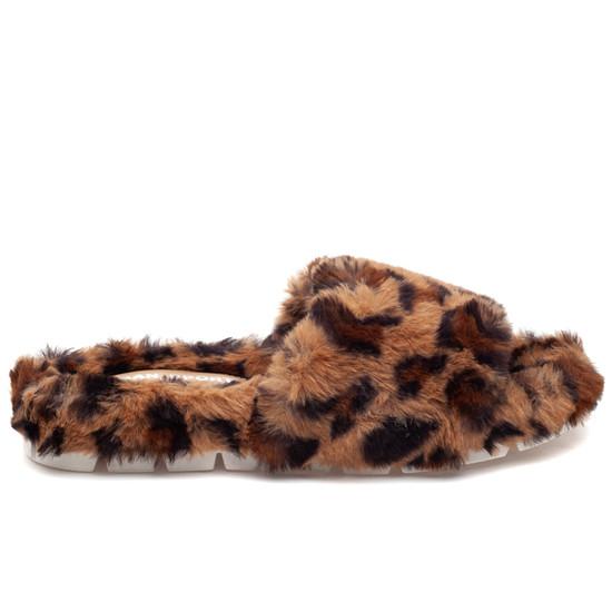 LELEE Leopard Faux Fur
