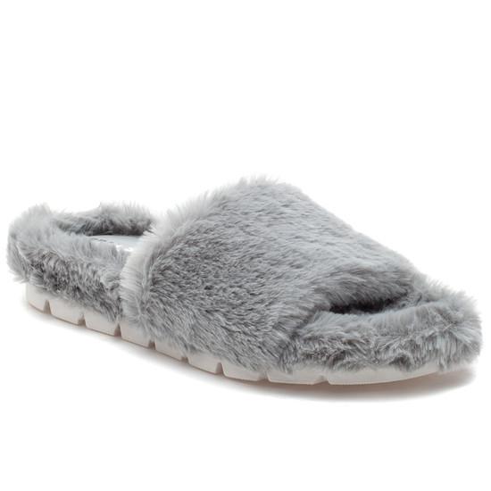 LELEE Light Grey Faux Fur