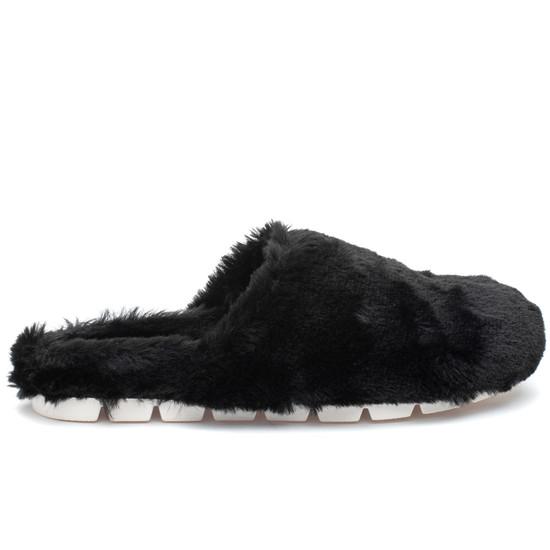 SCARLETT Black Faux Fur
