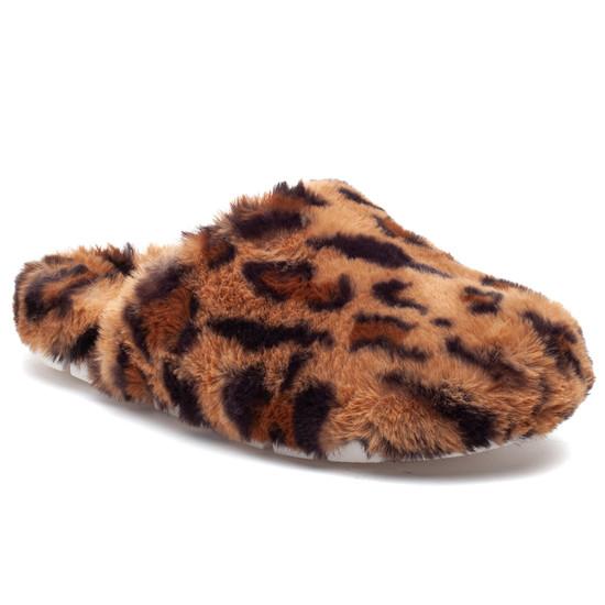 SCARLETT Leopard Faux Fur