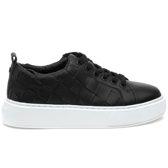 DEDE Black Leather