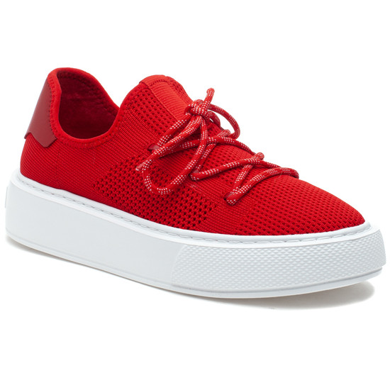 DAMIEN Red Knit