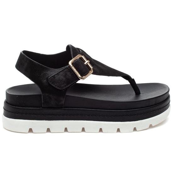 BECKY Black Leather