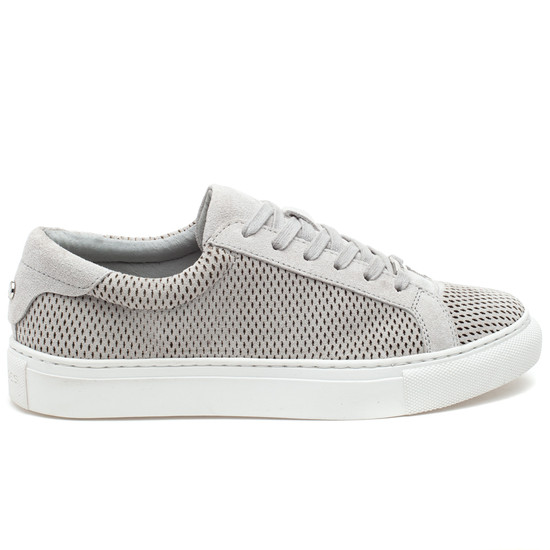 LORRIE Light Grey Suede