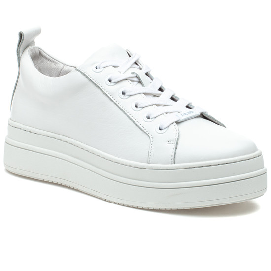 NOCA White Leather