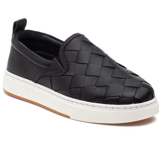 JUNIOR Black Leather