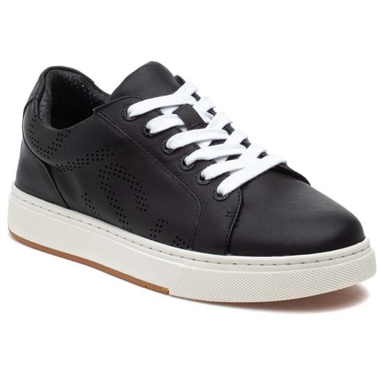JERMAINE Black Leather