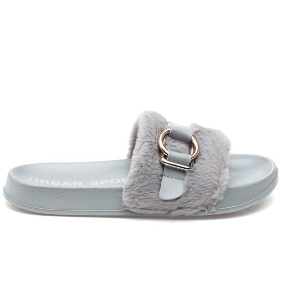 BRAVO Grey EVA/Faux Fur