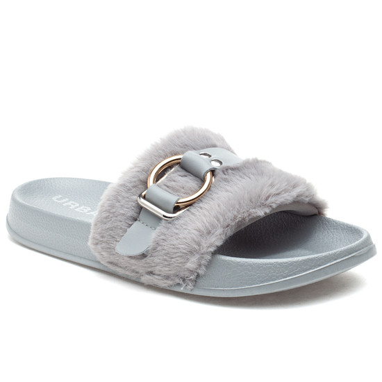 BRAVO Grey EVA/Faux Fur
