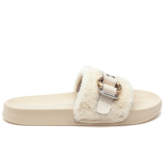 BRAVO Off White EVA/Faux Fur