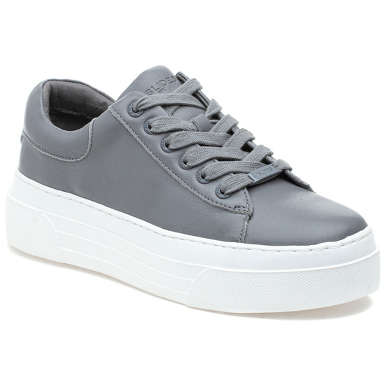 AMANDA Light Grey Leather