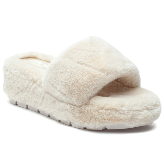 WILLOW Off White Faux Fur